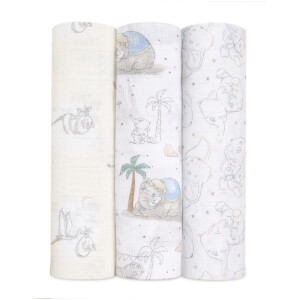 aden + anais Swaddles - My Darling Dumbo (3 Pack)