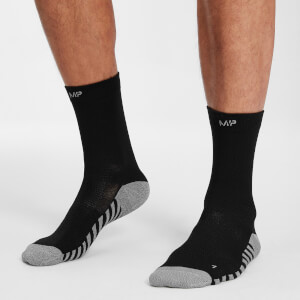 MP Velocity Full Length Running Socks - Black