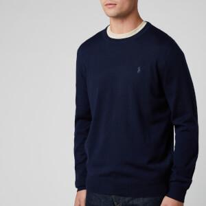 Polo Ralph Lauren Men's Merino Wool Sweatshirt - Hunter Navy