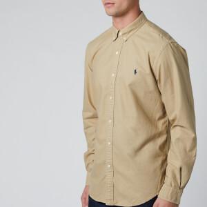 Polo Ralph Lauren Men's Oxford Sport Shirt - Surrey Tan