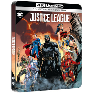 Justice League - Steelbook 4K Ultra HD (Include Blu-Ray 2D) - Esclusiva Zavvi