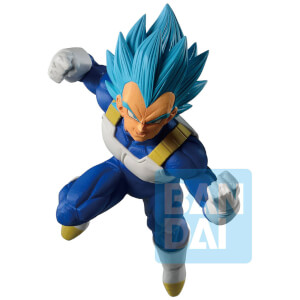 Banpresto Ichibansho Figure Super Saiyan God SS Vegeta (Dokkan Battle) Figure