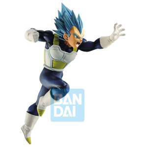 Banpresto Dragon Ball Super Super Saiyan God Super Saiyan Vegeta Z-Battle Figure Figure