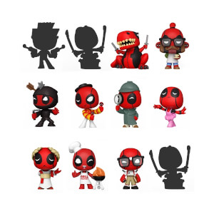 Marvel Mystery Minis Deadpool 30th Funko Pop! Vinyl