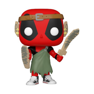 Marvel- Deadpool 30th - LARP Deadpool Figura Funko Pop! Vinyl