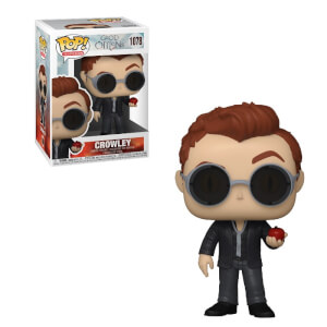 Good Omens Crowley with Apple Funko Pop! Vinyl