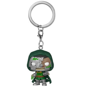 Marvel Zombies Dr Doom Pop! Portachiavi