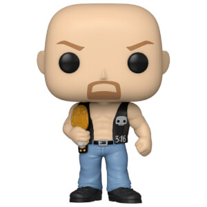 WWE Stone Cold Steve Austin with Belt Pop! Vinyl Figure