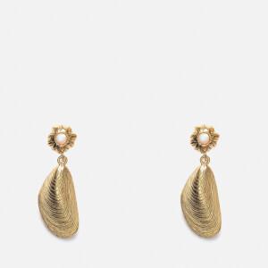 Anni Lu Women's Petit Moules Earring - Gold