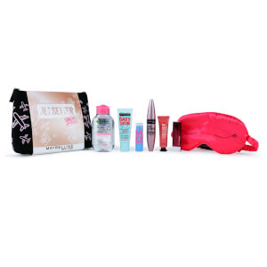 Maybelline Makeup Jet Setter Christmas Gift Set Travel Kit for Her (Worth £40.00)