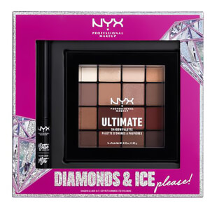 NYX Professional Makeup Diamonds and Ice Please Gift Set (Worth £30.00)