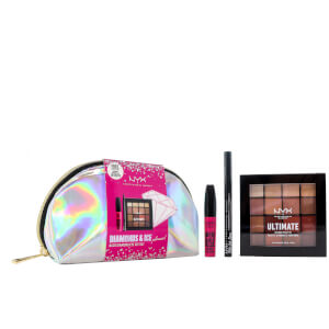 NYX Professional Makeup Diamonds & Ice Please Nude Diamond Eye Giftset (Worth £30.00)