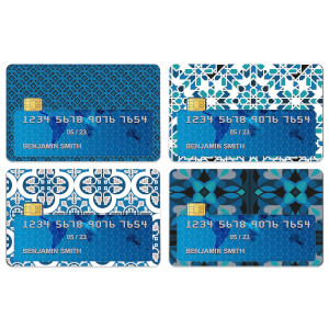Tiles Credit Card Covers