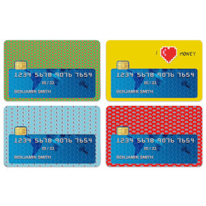 I Love Money Credit Card Covers
