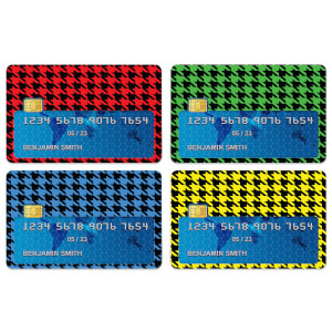 Dogtooth Credit Card Covers