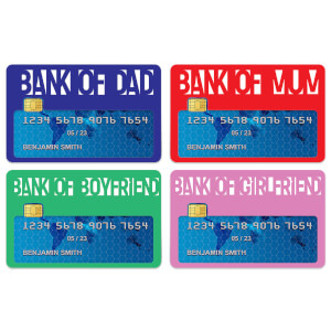 Colour Bank Of... Credit Card Covers