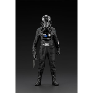 Kotobukiya Star Wars A New Hope ARTFX+ Statue 1/10 Tie Fighter Pilot Backstabber & Mouse Droid Exclusive 18 cm