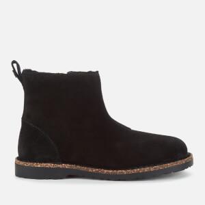 Birkenstock Women's Melrose Suede/Shearling Lined Chelsea Boots - Black