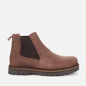Birkenstock Men's Stalon Nubuck Chelsea Boots - Mocca