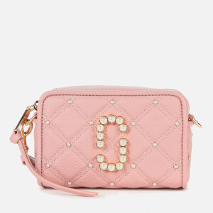 Marc Jacobs Women's The Softshot 17 Quilted Pearl Bag - Pink rose