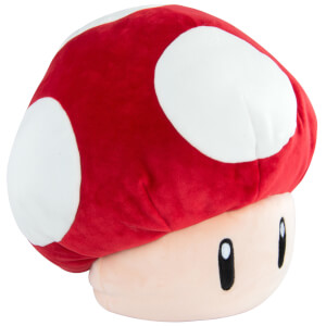 Mario Kart Large Plush Super Mushroom Toy
