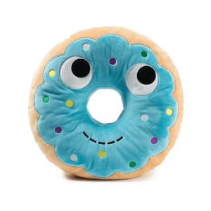 Kidrobot Yummy Donut Plush 12 Inch Blue