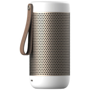 Kreafunk aCOUSTIC Bluetooth Speaker - White