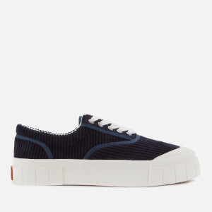 Good News Men's Opal Cord Sustainable Trainers - Navy