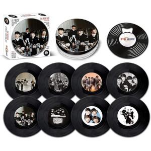 The Beatles 8 Pieces Coaster Tin Set