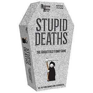 Stupid Deaths Coffin Tin Card Game