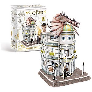 Harry Potter - Diagon Ally Gringotts 3D Jigsaw Puzzle