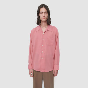 Our Legacy Men's Loco Tech Wool Shirt - Pink