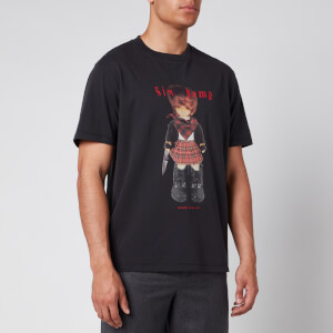 Our Legacy Men's Box 6Teen6Tysix Print T-Shirt - Black