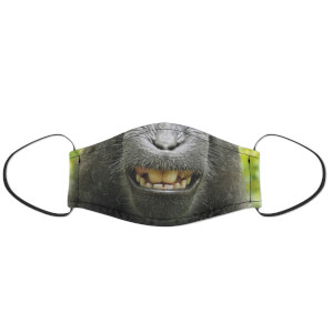 Happy Monkey Face Mask