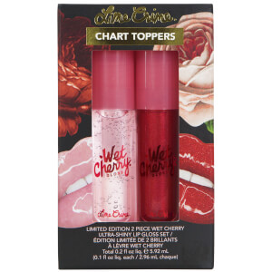 Lime Crime Chart Toppers Wet Cherry Set