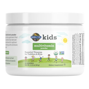 Kinder Multivitamin-Pulver Label 062519