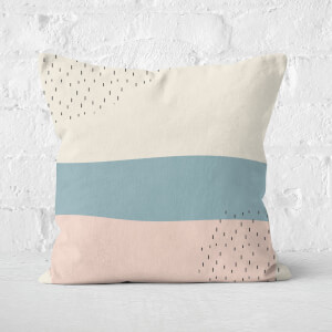 Stripe Square Cushion