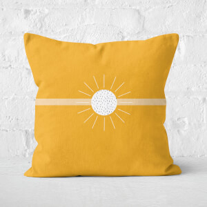 Sun-rays Square Cushion