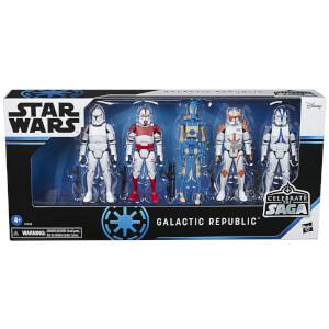 Hasbro Star Wars Celebrate the Saga Galactic Republic Action Figure Set