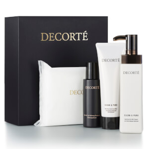 Decorté Clean and Pure Facial Cleansing Essentials Set (Worth $139.00)