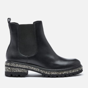 Dune Women's Panorama Leather Chelsea Boots - Black