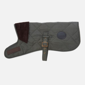 Barbour Casual Quilted Dog Coat - Olive