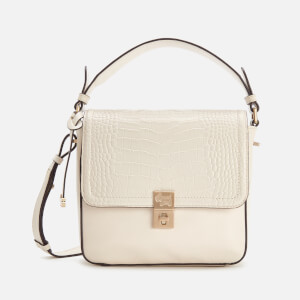 Radley Women's Dorset Street Croc Small Flapover Cross Body Bag - Oyster