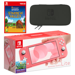 Nintendo Switch Lite (Coral) Stardew Valley - Digital Download Pack