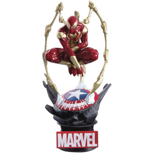 Beast Kingdom Marvel Comics Iron Spider-Man D-Select Diorama