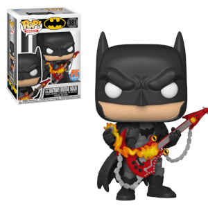 PX Previews DC Comics Dark Knights Death Metal Guitar Solo Batman Pop! Vinyl Figur