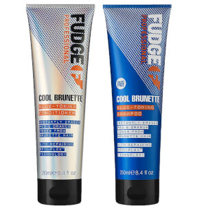 Cool Brunette Blue Toning Shampoo and Conditioner 250ml