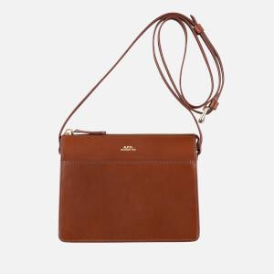 A.P.C. Women's Ella Mini Cross Body Bag - Hazelnut