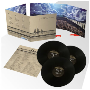 Attack on Titan Original Soundtrack 3LP