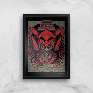 Dungeons & Dragons Players Handbook Giclee Art Print